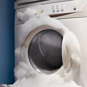 Το πλυντήριο ρούχων δεν βγάζει τα νερά